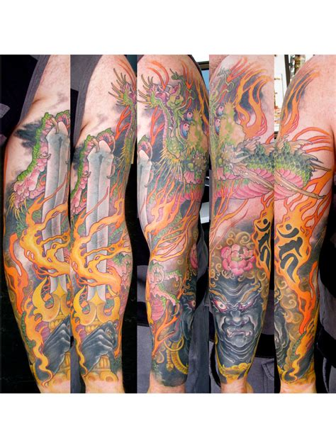 fudo myoo tattoo fudo myo o sleeve ideas