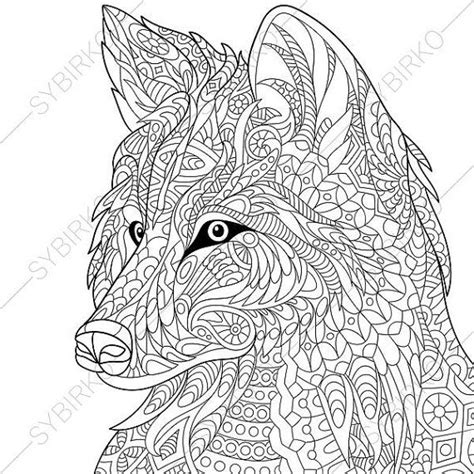 wolf coloring book wolf coloring book for adults wolf coloring pages for