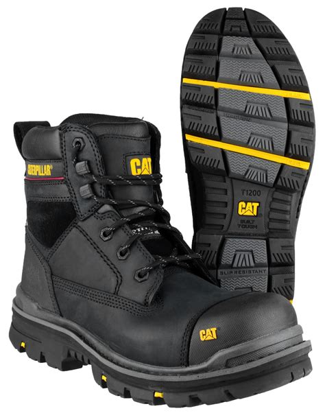 Caterpilar Safety caterpillar cat gravel 6 quot safety work boots ebay