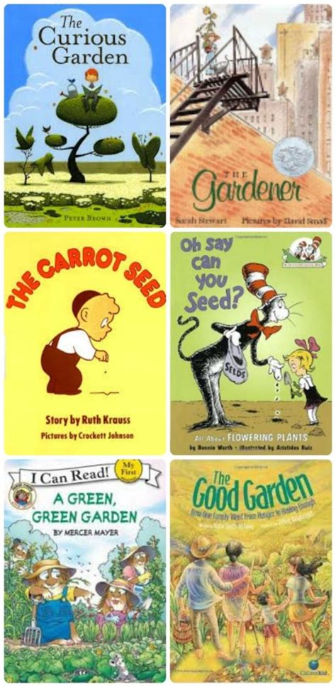 garden picture books gardening books with 50 gardening activities for