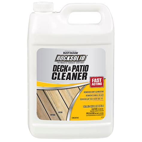 rocksolid deck patio cleaner product page