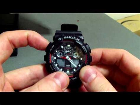 Gshock Time how to sync and adjust digital and analog clock on g sh doovi