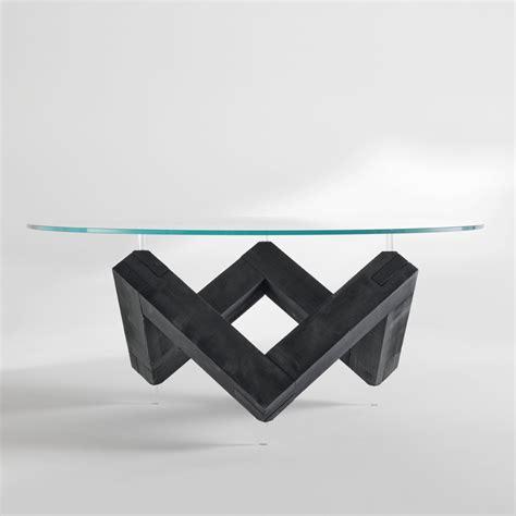 tavolo legno rotondo tavolo da pranzo rotondo in legno con piano in cristallo bao