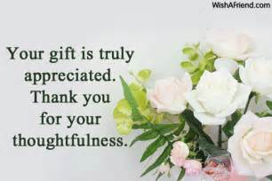 your gift is truly appreciated thank thank you notes for