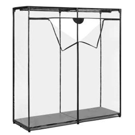 Home Depot Portable Closet by Whitmor Supreme Garment Collection 60 In X 64 In