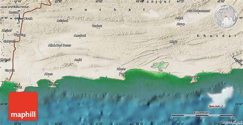 pakistan map satellite satellite map of gwadar