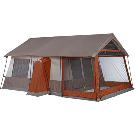magellan outdoors trailhead lodge cabin tent cing