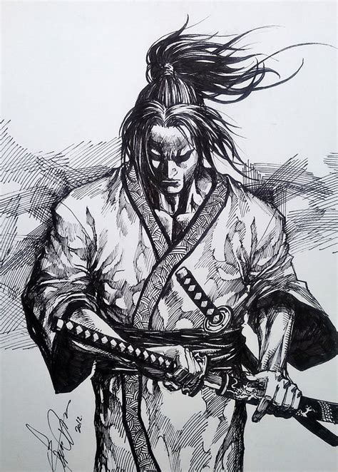 samurai by dikeruan on deviantart