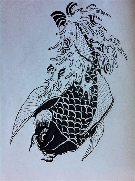 sketchbook koi of ink sketchbook series koi fishes