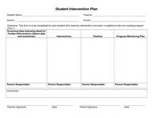 intervention plan template student intervention plan pictures to pin on