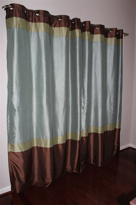 Slide Door Curtains by Our Home From Scratch