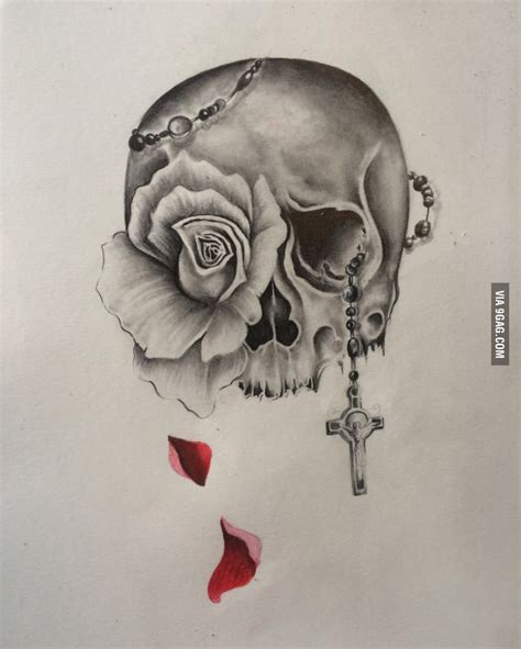 skull and rose tattoo design rose tattoos tattoo