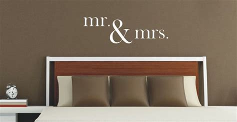 mr mrs wall decal vinyl lettering mr and mrs vinyl