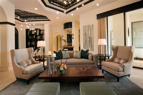 Transitional Living Room Design by Rattan Living Room Furniture Florida Decosee