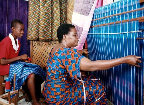 nigeria weaving style picture africa akwete traditional weaving nigeria 169 muyiwa