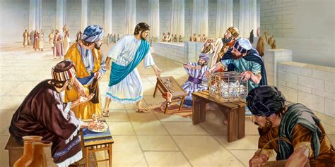 jesus cleanses the temple the temple cleansed again watchtower online library