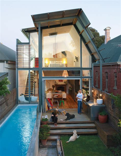 tiny pool house small swimming pool design
