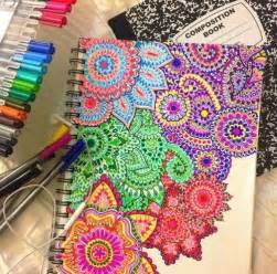 colorful things to draw awesome diy notebook cover crafting