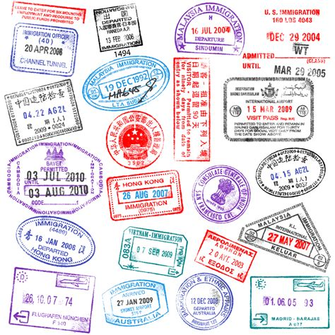 rubber st designs free passport sts design free vector graphics mfw ecc