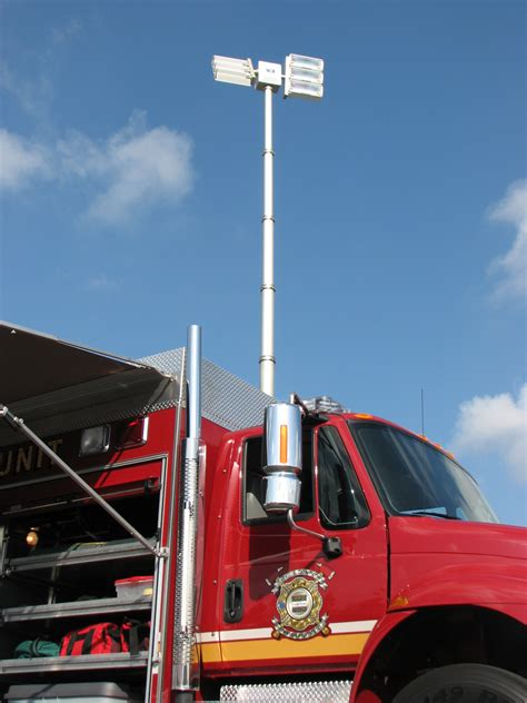 truck mounted work lights will burt night scan powerlite hdt led light tower
