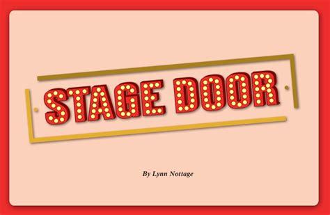 Stage Door Productions by Stage Door Productions The Kalamazoo Civic Theatre