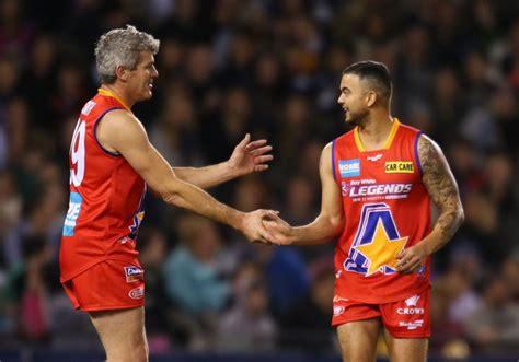 shaun smith shaun smith tips legends goalkicker to be a silver fox