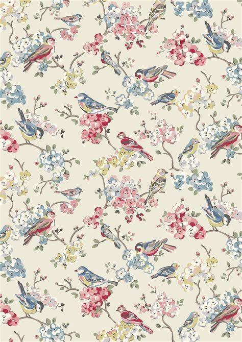 pattern background print blossom birds we ve returned to one of our favourite