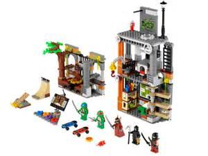 mutant turtles lego set images arrive