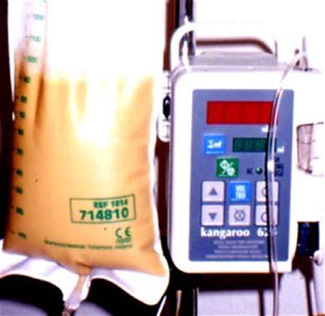 alimentazione parenterale domiciliare pompa kangaroo k624 nutrizione artificiale sito