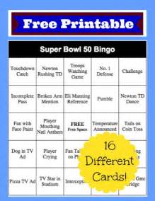 2016 bowl bingo cards free printable thrifty jinxy