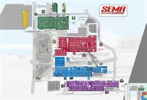 Sema Show Floor Plan Sema 2014 Exhibitor List And Floor Plan Product Reviews Net