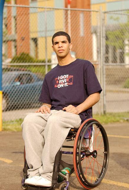 Wheelchair Polnareff Wheelchair Drake Know - drake in degrassi youtube