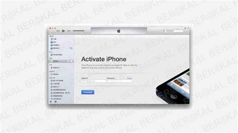 melewati aktivasi iphone  sim card