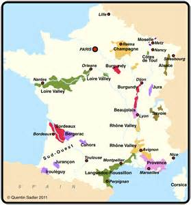 France Wine Map by Lorraine Wine Worthy Of The Chase Quentin Sadler S