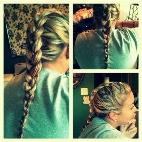 Easy Big Braids | easy big cornrow braid hair pinterest braids big