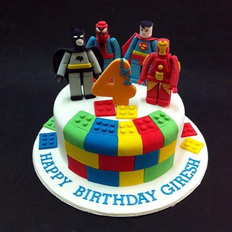 Gelang Lego Captain America fondant 3d lego marvel superheros fondant cakes jb kl