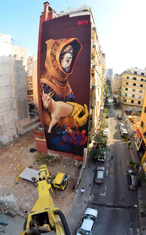 inti castro dope magazine graffiti  street art en