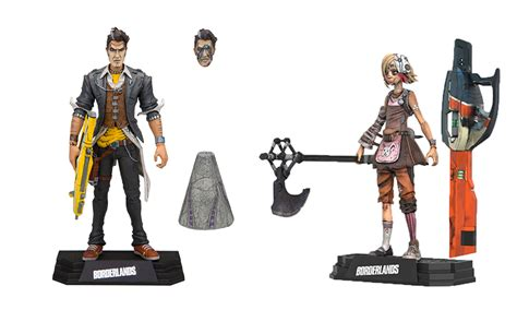 Mcfarlane Borderlands 2 Handsome borderlands 2 tiny tina and handsome figures