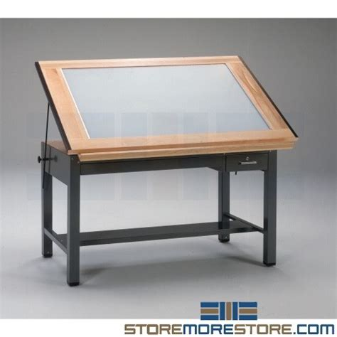 Drawing Table With Lightbox Modern Coffee Tables And