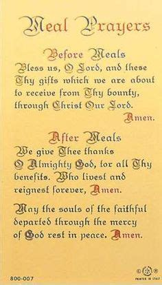 1000+ images about table blessings and mealtime prayers on