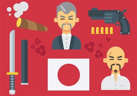 yakuza tattoo vector free download free yakuza icons vector download free vector art stock