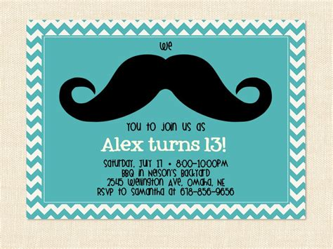 stockpotvecs 13th birthday party invitations for girls
