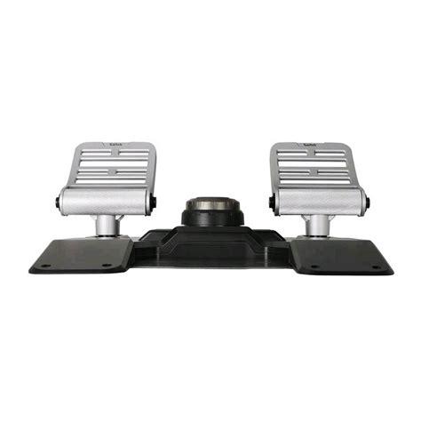 Saitek Pro Flight Rudder Pedals saitek pro flight combat rudder pedals pccomponentes
