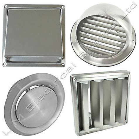 Kitchen Exhaust Cover by Stainless Steel Wall Air Vent Metal Cover Outlet Exhaust