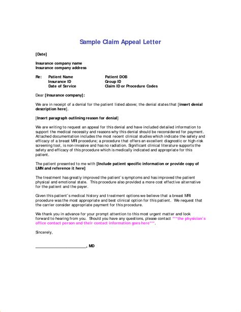 Letter To Insurance Company For Late Claim Appeal Letter To Insurance Company 33029239 Png Pay Stub Template