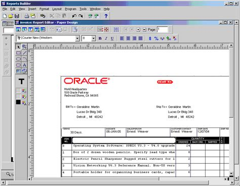 run web layout oracle reports application express how to integrate oracle reports with