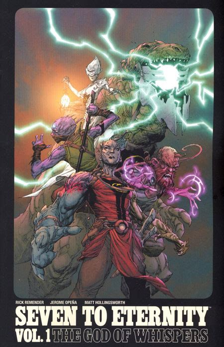 libro seven to eternity volume seven to eternity tp vol 01 dcbs exc discount comic book service