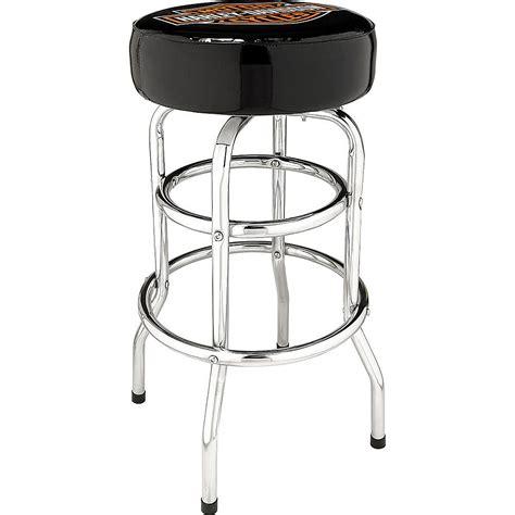 harley davidson bar and shield bar stool