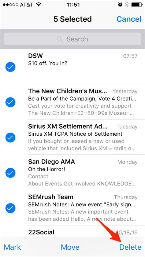 yahoo email going to trash iphone beautiful how to get mail app back on iphone email not