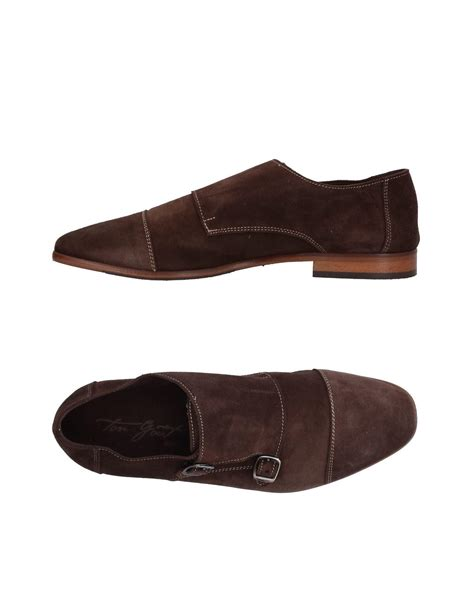 gout shoes lyst ton go 251 t loafer in brown for